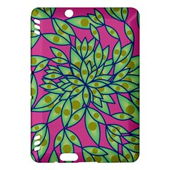 Big Growth Abstract Floral Texture Kindle Fire Hdx Hardshell Case