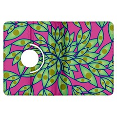 Big Growth Abstract Floral Texture Kindle Fire HDX Flip 360 Case