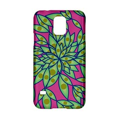 Big Growth Abstract Floral Texture Samsung Galaxy S5 Hardshell Case