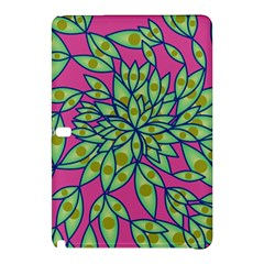 Big Growth Abstract Floral Texture Samsung Galaxy Tab Pro 10.1 Hardshell Case