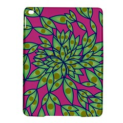 Big Growth Abstract Floral Texture Ipad Air 2 Hardshell Cases