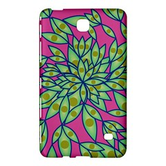 Big Growth Abstract Floral Texture Samsung Galaxy Tab 4 (7 ) Hardshell Case