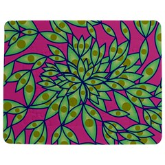 Big Growth Abstract Floral Texture Jigsaw Puzzle Photo Stand (rectangular)