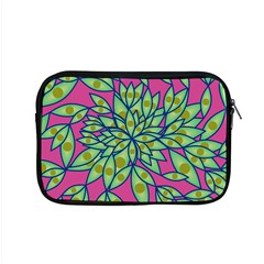 Big Growth Abstract Floral Texture Apple Macbook Pro 15  Zipper Case
