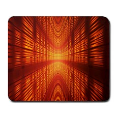 Abstract Wallpaper With Glowing Light Large Mousepads