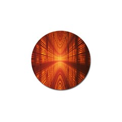 Abstract Wallpaper With Glowing Light Golf Ball Marker