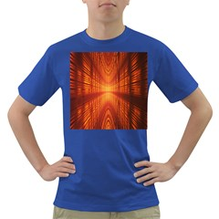 Abstract Wallpaper With Glowing Light Dark T-Shirt