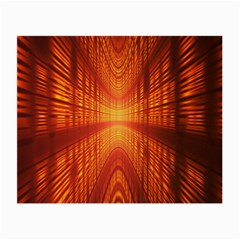Abstract Wallpaper With Glowing Light Small Glasses Cloth