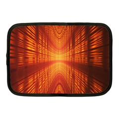 Abstract Wallpaper With Glowing Light Netbook Case (medium)