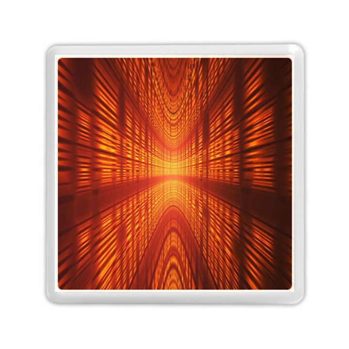 Abstract Wallpaper With Glowing Light Memory Card Reader (Square)
