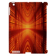 Abstract Wallpaper With Glowing Light Apple Ipad 3/4 Hardshell Case (compatible With Smart Cover)