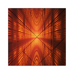 Abstract Wallpaper With Glowing Light Acrylic Tangram Puzzle (6  x 6 )