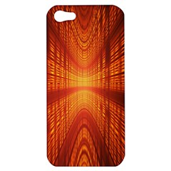 Abstract Wallpaper With Glowing Light Apple Iphone 5 Hardshell Case