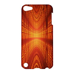 Abstract Wallpaper With Glowing Light Apple Ipod Touch 5 Hardshell Case