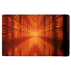 Abstract Wallpaper With Glowing Light Apple Ipad 3/4 Flip Case