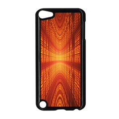 Abstract Wallpaper With Glowing Light Apple iPod Touch 5 Case (Black)