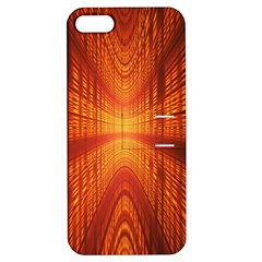 Abstract Wallpaper With Glowing Light Apple Iphone 5 Hardshell Case With Stand