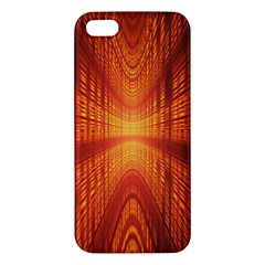 Abstract Wallpaper With Glowing Light Apple iPhone 5 Premium Hardshell Case