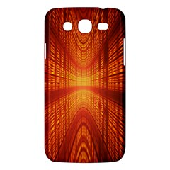 Abstract Wallpaper With Glowing Light Samsung Galaxy Mega 5.8 I9152 Hardshell Case