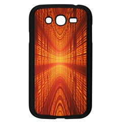 Abstract Wallpaper With Glowing Light Samsung Galaxy Grand DUOS I9082 Case (Black)