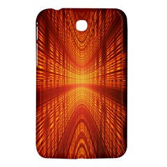 Abstract Wallpaper With Glowing Light Samsung Galaxy Tab 3 (7 ) P3200 Hardshell Case