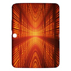 Abstract Wallpaper With Glowing Light Samsung Galaxy Tab 3 (10 1 ) P5200 Hardshell Case