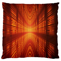 Abstract Wallpaper With Glowing Light Standard Flano Cushion Case (Two Sides)
