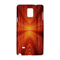Abstract Wallpaper With Glowing Light Samsung Galaxy Note 4 Hardshell Case