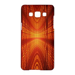 Abstract Wallpaper With Glowing Light Samsung Galaxy A5 Hardshell Case