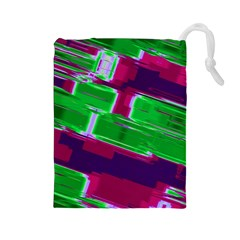 Background Wallpaper Texture Drawstring Pouches (large)
