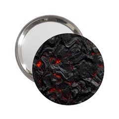 Volcanic Lava Background Effect 2.25  Handbag Mirrors