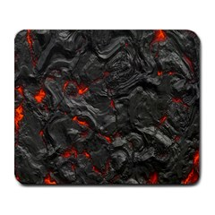 Volcanic Lava Background Effect Large Mousepads