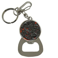 Volcanic Lava Background Effect Button Necklaces