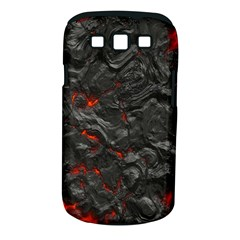 Volcanic Lava Background Effect Samsung Galaxy S III Classic Hardshell Case (PC+Silicone)
