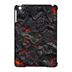 Volcanic Lava Background Effect Apple iPad Mini Hardshell Case (Compatible with Smart Cover)