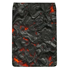 Volcanic Lava Background Effect Flap Covers (L)