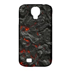Volcanic Lava Background Effect Samsung Galaxy S4 Classic Hardshell Case (PC+Silicone)