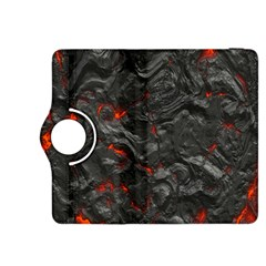 Volcanic Lava Background Effect Kindle Fire HDX 8.9  Flip 360 Case