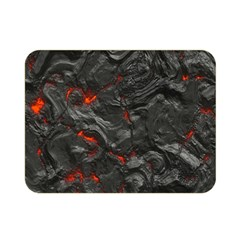 Volcanic Lava Background Effect Double Sided Flano Blanket (mini)