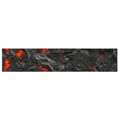 Volcanic Lava Background Effect Flano Scarf (small)