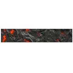 Volcanic Lava Background Effect Flano Scarf (Large)