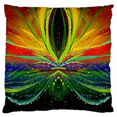Future Abstract Desktop Wallpaper Large Cushion Case (One Side)