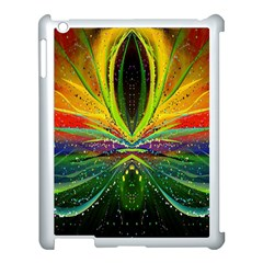 Future Abstract Desktop Wallpaper Apple Ipad 3/4 Case (white)