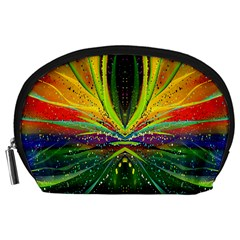 Future Abstract Desktop Wallpaper Accessory Pouches (Large)