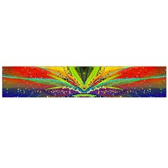 Future Abstract Desktop Wallpaper Flano Scarf (Large)