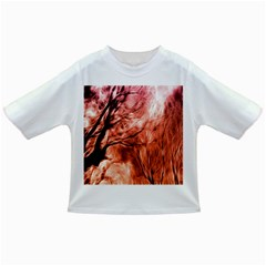 Fire In The Forest Artistic Reproduction Of A Forest Photo Infant/Toddler T-Shirts
