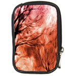 Fire In The Forest Artistic Reproduction Of A Forest Photo Compact Camera Cases Front