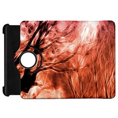 Fire In The Forest Artistic Reproduction Of A Forest Photo Kindle Fire Hd 7