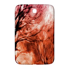 Fire In The Forest Artistic Reproduction Of A Forest Photo Samsung Galaxy Note 8.0 N5100 Hardshell Case