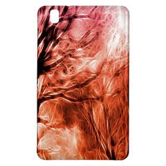 Fire In The Forest Artistic Reproduction Of A Forest Photo Samsung Galaxy Tab Pro 8 4 Hardshell Case